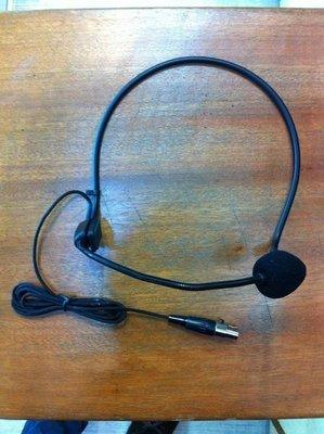 視聽影訊 DAYEN 大影 高級三針接頭 電溶式 頭戴式 頭掛型麥克風 另 DA826 DA825U