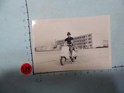 偉士牌,老機車,摩托車,古董黑白,照片,相片**稀少品