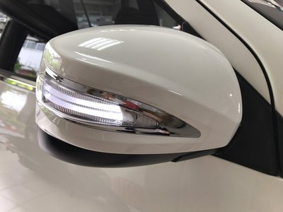 車酷中心 MITSUBISHI 雙贏 ZINGER LED導光條後視鏡蓋+電動馬達收折後視鏡 7400元完工價