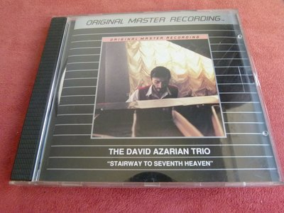 MFSL絕版銘盤THE DAVID AZARIAN TRIO /  STAIRWAY TO SEVENTH HEAVEN