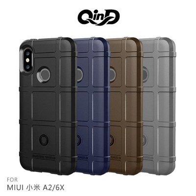 *phone寶*QinD MIUI 小米 A2/6X 戰術護盾保護套 防摔殼 軟殼 TPU套 手機殼 保護殼