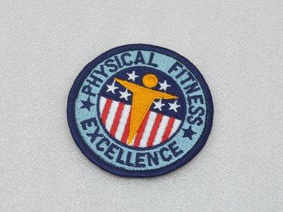 收藏品 美國USARMY 體能優異/Physical Fitness Excellence徽章