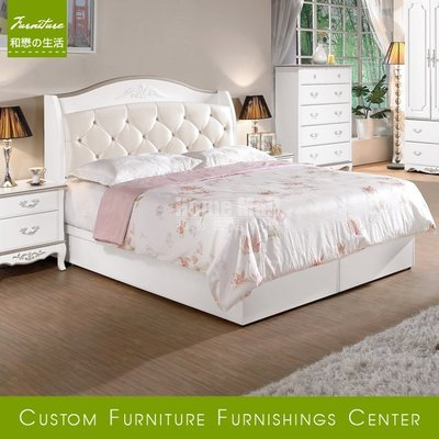 HOME MALL~諾維雅雙人加大6尺床箱式床架 $10900~(雙北市免運費)8C~(歡迎來電詢問)