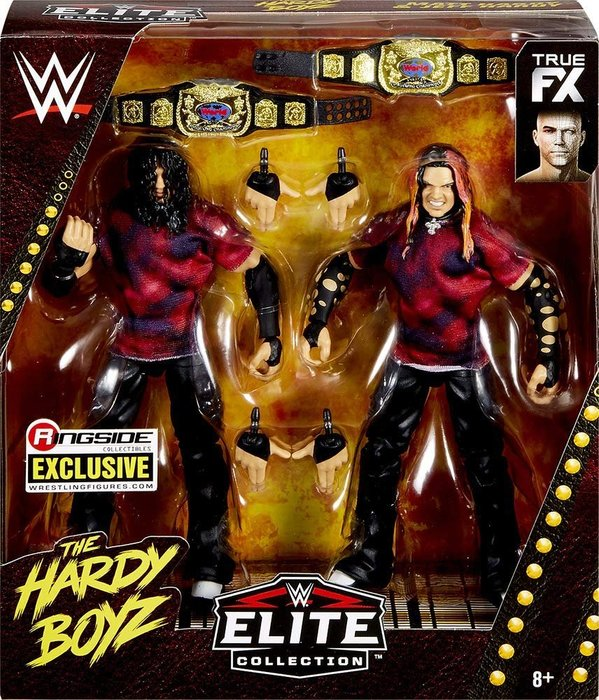 ☆阿Su倉庫☆WWE Brood Hardy Boyz Matt & Jeff Hardy Elite 限定精華版雙人組