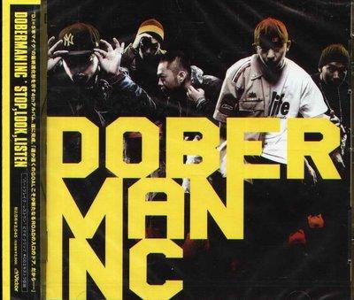 K - DOBERMAN INC - STOP LOOK LISTEN - 日版 - NEW
