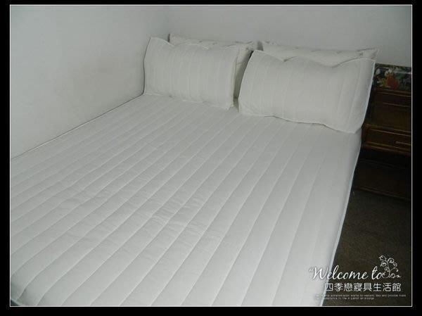 【四季戀寢具】【加厚枕頭保潔墊】台灣製造枕頭平單式保潔墊(1入)