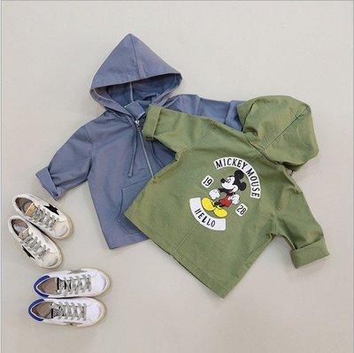 『正韓』《現貨》韓風休閒米奇男童長袖外套