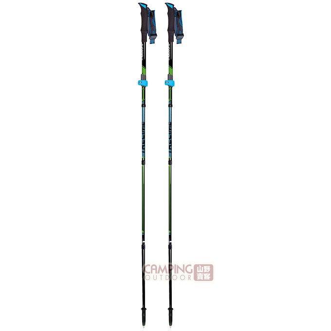 【山野賣客】義大利MASTERS Trecime Pro碳纖維野跑登山杖 MA01N3116 野跑杖 登山杖 手杖 拐杖
