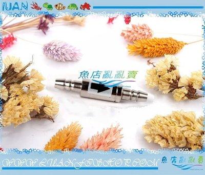 【~魚店亂亂賣~】LUANFISHOP嚴選 精密金屬逆止閥(高壓幫浦&CO2系統使用)金屬止逆閥
