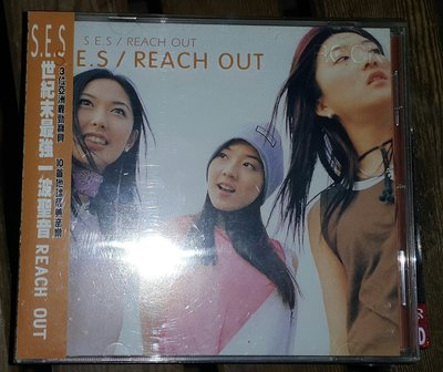 S.E.S-REACH OUT專輯 /2手