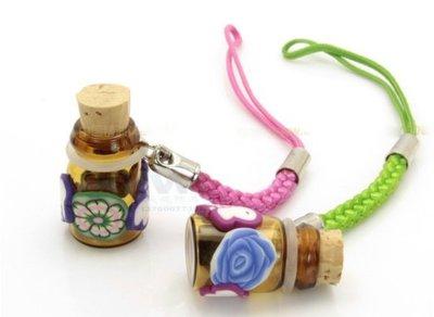 軟陶精油瓶吊飾 精油 香氛 香水瓶 樣品 擴香瓶 旅行 隨身 薰香瓶?菁忻皂作?