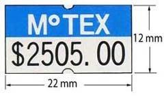 永綻*(100卷)印刷訂做*標價機貼紙、打標機貼紙MOTEX   標價紙(22*12mm)(23*16mm)