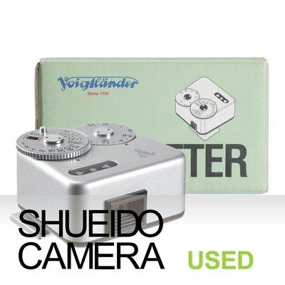集英堂写真機【3個月保固】中古極上品 / VOIGTLANDER 福倫達 VC METER 機頂測光表 銀色 17925