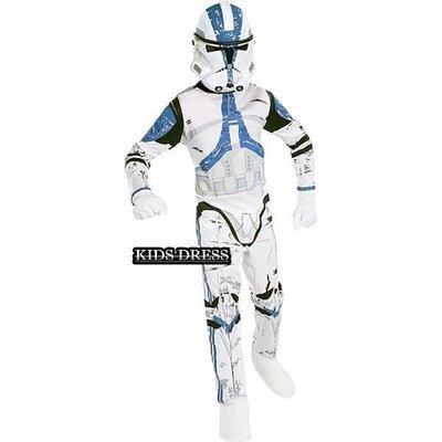 星際大戰新克隆傘兵星戰船長雷克斯絕地裝扮服裝 ~萬聖節造型~妍媽咪兒童禮服出租~