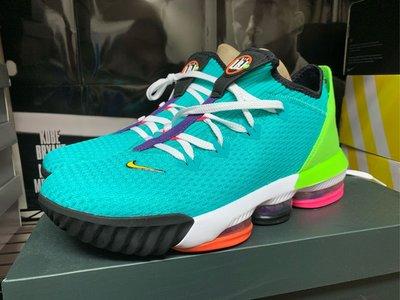全新台灣公司貨 NIKE LEBRON XVI LOW EP US9.5 LEBRON16 低筒籃球鞋