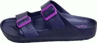 便宜運動器材LOTTO BURANO勃肯拖鞋 Sandals & Slippers LT7AWS5626(藍莓果)