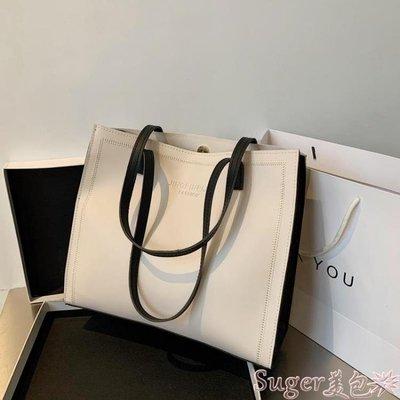 托特包 女士包包女大容量包新款2020時尚潮2020流行側背包托特包手提大包 suger