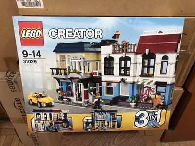 全新 LEGO Creator 31026 Bike Shop & Cafe