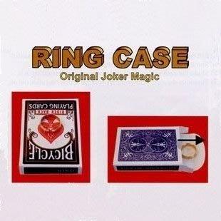 【意凡魔術小舖】Ring Case--戒指轉移(戒指入牌盒)