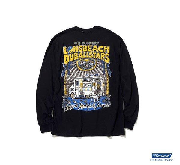 GOODFORIT/日本Radiall LONG BEACH -CREW NECK T-SHIRT長袖上衣/兩色
