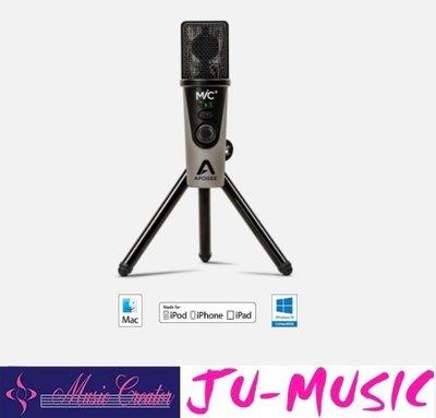 造韻樂器音響- JU-MUSIC - Apogee Mic Plus USB麥克風 電容式 頻果通用『公司貨,免運費』