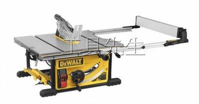 6/4到貨囉/DWE7492【工具先生】公司貨 得偉 DEWALT 木工 10吋 桌上型圓鋸機 平台圓鋸機 桌上圓鋸機