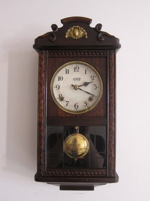 [經典中的經典]~早期~~巴洛克風~~精美日本製發條鐘 機械鐘 功能正常運行