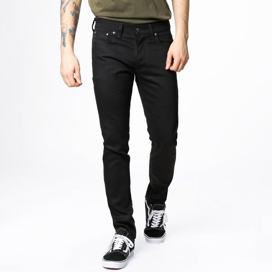 NUDIE Tilted Tor Dry Cold Black 黑色 原色 合身 窄管 牛仔 丹寧 長褲 牛仔褲