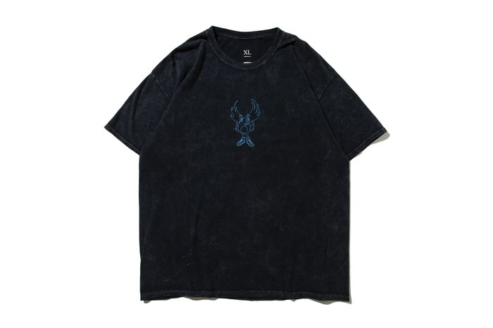 [ LAB Taipei ] REMIX ' 20 S/S WING GUY TEE  [  石洗黑 ]
