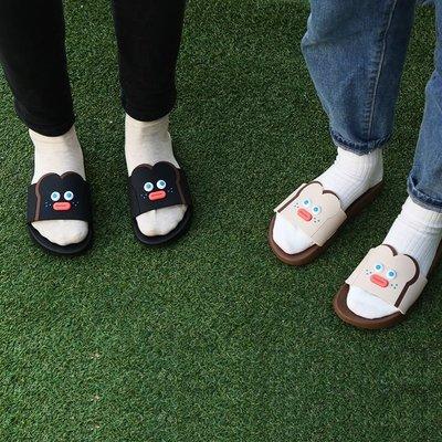 ♀高麗妹♀韓國 BRUNCH BROTHER Slipper 早午餐兄弟3 舒適居家拖鞋/情人拖鞋/防滑浴室拖鞋(預購)