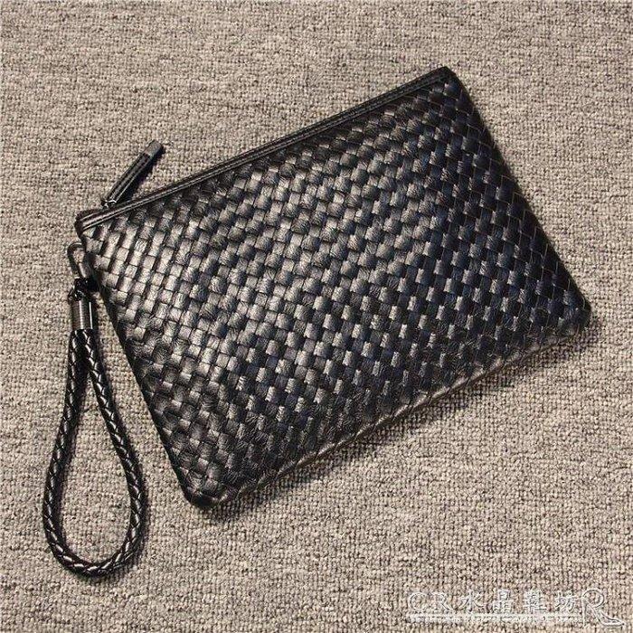 BELOCO 手包男潮 大牌編織男士手拿包女時尚休閒手拎包夾包BE655