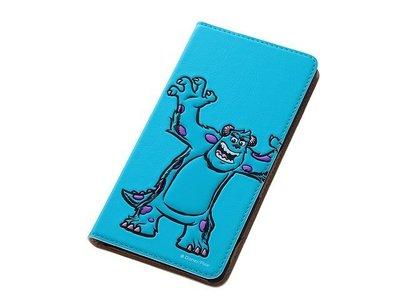 尼德斯Nydus~* 日本 Disney 迪士尼 怪獸大學 毛怪 翻頁式 手機殼 Sony Z3 座充對應ok