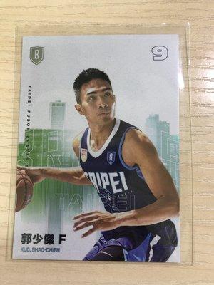 2019-20 富邦勇士城市版特卡 郭少傑 PC005