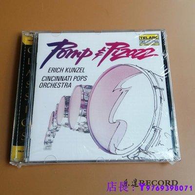 全新CD音樂 華麗威猛的進行曲 孔澤爾 TELARC POMP PIZAZZ  正版CD