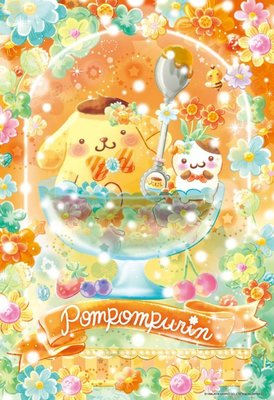日本拼圖.三麗鷗 凱蒂貓 Hello Kitty 布丁狗 300片拼圖,33-143