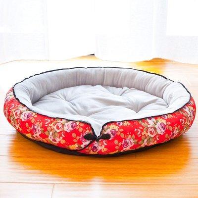四季寵物墊毛絨玩具貓狗寶寶小窩大型小型犬比熊金毛狗貓屋用品床
