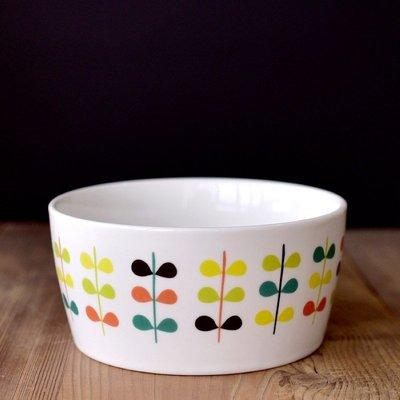 聚吉小屋 #熱賣#LA MAISON森系小清晰陶瓷碗日式平底碗芝士焗飯烤碗中號500ml飯碗(價格不同 請諮詢後再下標)