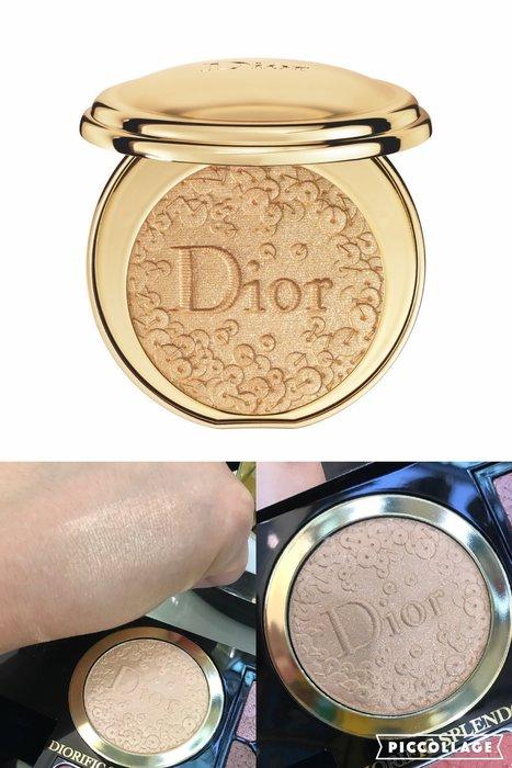 min~Christian Dior 迪奧金燦光感蜜粉餅(限量) 6g全新專櫃正貨cd 迪奧聖誕彩妝