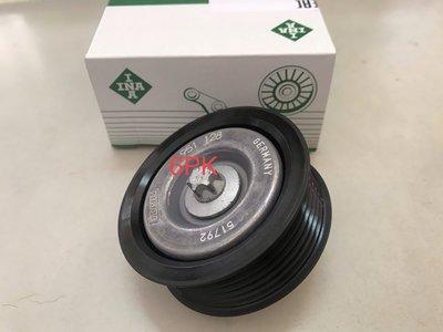 冷氣惰輪 皮帶惰輪 W204 W212 CGI M271 08-