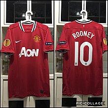 曼聯 Manchester United 11/12 Size M 連 歐霸字章 全新連牌