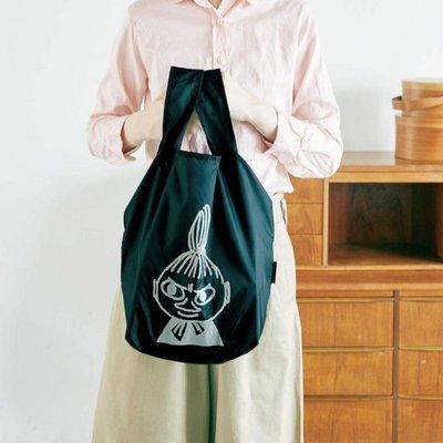 [瑞絲小舖]~日雜附錄MOOMIN慕敏家族每日實用提包/摺疊環保購物袋 肩背包 單肩包 手提袋 收納袋 托特包