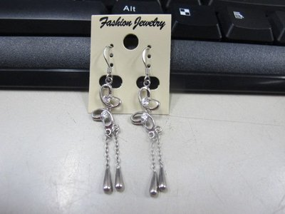 二手舖 NO.4504 時尚造型耳環 耳針 耳鉤 便宜賣 首飾飾品