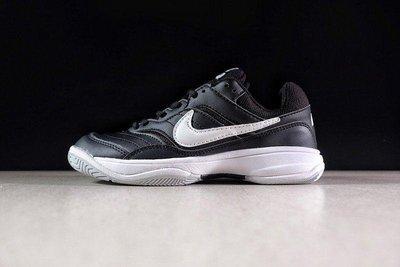 NIMI通販 Nike-Court Lite Tennis 845021-010 黑色 網球鞋 休閒 慢跑鞋