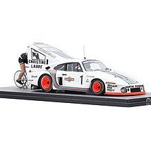 """OI-134 Spark- Porsche 935 #1 """"Porsche Martini Racing"""" Bicycle Speed Record"""