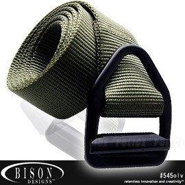 【ARMYGO】BISON DESIGNS 最後機會輕型黑扣腰帶 #545OLV