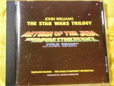 Star Wars Trilogy 星際大戰三部曲(星際大戰 帝國大反擊 絕地大反攻) 電影配樂 約翰威廉斯 JVC版