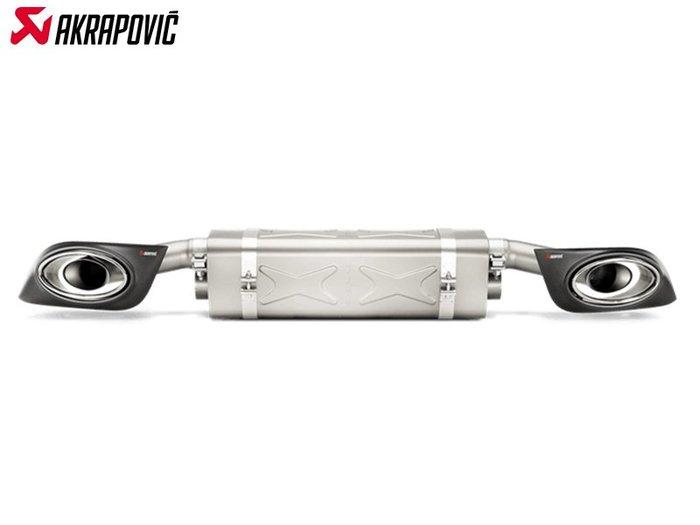 【樂駒】Akrapovic PORSCHE 911 TURBO TURBO S 991.2 排氣管 尾段 尾飾管 鈦合金