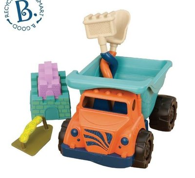 【小糖雜貨舖】美國 B.Toys 沙子卡車