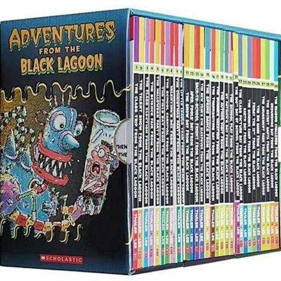 【現貨盒裝30冊】黑潭小學歷險記 Black Lagoon Collection Set1 1-30冊盒裝