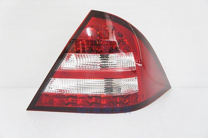 ~~ADT.車燈.車材~~賓士 W203 00 01 02 03 LED 紅白晶鑽尾燈一組